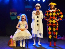 День рождения в театре Куклы