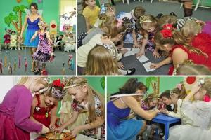 День рождения ребенка в Детском центре «Мамина Радость»